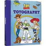 英文原版 Toy Story Toyography 玩具总动员 安迪的宝藏 牛仔胡迪 巴斯光年 精装操作翻翻书内含贴纸