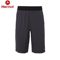 Marmot/土拨鼠春夏新款户外男式超轻速干短裤防紫外线_F54860