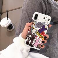 潮牌芝麻街苹果x手机壳iPhone6splus卡通女款xs max防摔套7/8软壳