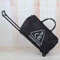 拉杆包旅行袋可爱行李包短途旅游包商务登机防水大容量手提旅行包 大