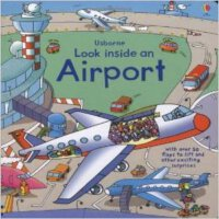 现货 英文原版 Loook inside an Airport机场百科翻翻书 Usborne