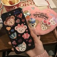 达菲熊iPhoneXSMAX手机壳可爱卡通少女心苹果6s/7/8plus/xr保护套