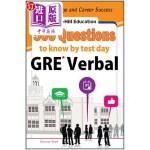 【中商海外直订】McGraw-Hill Education 500 GRE Verbal Questions to K