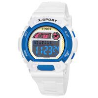手表防水儿童电子表时尚运动电子表 黄色