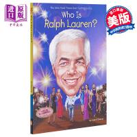 【中商原版】Who Is Ralph Lauren 谁是拉尔夫劳伦 Who Is系列 儿童名人传记科普文学 英文原版 7