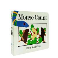 英文原版进口 Mouse Count 老鼠数数 吴敏兰书单 第49本 纸板书 [4-8岁]