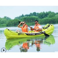 户外豪华漂流船双人充气船艇 水上龙舟安全防漏气橡皮艇