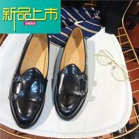 新品上市韩国英伦风一脚蹬鞋男士低帮鞋皮鞋懒人鞋正装休闲潮流青年