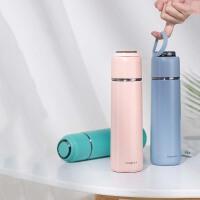 保温杯子女学生ins简约便携水壶创意个性潮流水杯瓶小巧