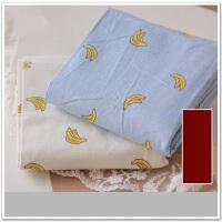 香蕉棉麻布沙发布料棉面料加厚手工桌布 抱枕套棉麻布T