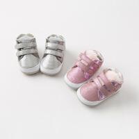 [2件3折价:48.9]davebella戴维贝拉春季新款男女宝婴幼儿软底步前鞋DB10962