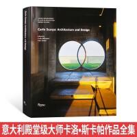 【Rizzoli】Carlo Scarpa卡洛・斯卡帕作品全集 意大利殿堂级建筑大师 博物馆宗教文化建筑设计书籍