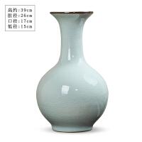 景德镇陶瓷花瓶摆件仿古瓷器花插复古中式现代简约客厅酒柜装饰品