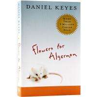 献给阿尔吉侬的花束 英文原版小说 Flowers for Algernon 丹尼尔・凯斯 获雨果奖 星云奖 同名改编影