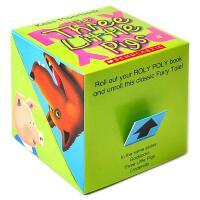 英文原版 盒子立体书:三只小猪 Roly Poly Pop-Up: Three Little Pigs
