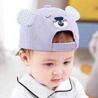婴儿帽子春秋宝宝棒球帽防晒遮阳帽儿童鸭舌帽女