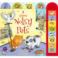 Usborne Noisy Pets [Words by Jessica Greenwell] 英文原版儿童书 闹闹音乐有声书:宠物