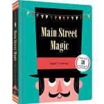 魔法街道 英文原版 Main Street Magic 趣味立体书翻翻书 操作书 Chronicle