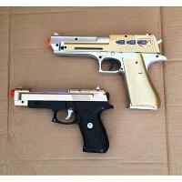 3岁男宝宝玩具枪儿童玩具声光枪枪声款金色 官方标配