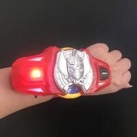 银河奥特曼变身器火花召唤器斯特利姆手镯玩具 儿童手环手表发光