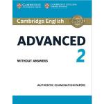 【预订】Cambridge English Advanced 2 Student's Book Without Ans