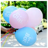 孩派HighParty 生日聚会 12寸乳胶气球 男宝宝女宝宝气球 1个