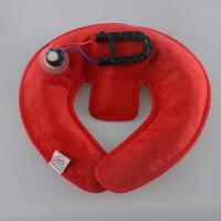 充电热水袋U型暖水袋护肩颈暖颈椎暖脖子安全暖手宝热敷