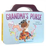 顺丰发货 英文原版进口绘本 Grandma's Purse 奶奶的钱包 儿童趣味纸板书 英语启蒙亲子阅读图文睡前故事书