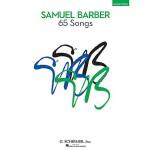 【预订】Samuel Barber: 65 Songs: High Voice
