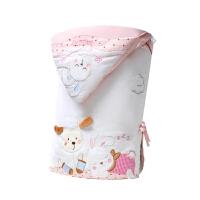 棉花被宝宝用品��河闷� 抱被��罕� 婴儿包被包被