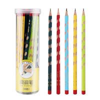 宝克洞洞笔铅笔小学生hb2比三角杆儿童矫正握姿洞洞铅笔素描2b铅笔一年级幼儿园学写字学习文具用品
