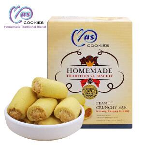 马来西亚进口 麦阿思花生夹心酥饼干 110g