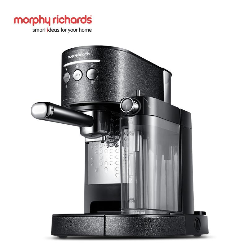 英国摩飞煮咖啡机家用小型胶囊商用全自动意式现磨一体机MR7008-T 一键制作花式咖啡 双锅炉一键打奶泡
