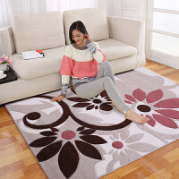 享家手工剪花缇香魅影系列现代简约客家居客厅卧室地毯160*230�M 地毯地垫沙发茶几毯