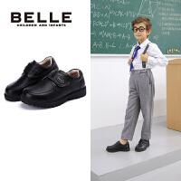 【券后价:208.9元】百丽Belle童鞋时尚男童绅士英伦学生鞋舒适保暖百搭简约皮鞋(8-12岁可选)