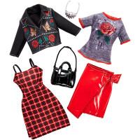 芭比娃娃衣橱之时尚组合 芭比衣服女孩公主生日礼物 .