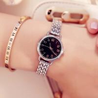 时尚小巧表盘链条女表学生腕表防水石英手表