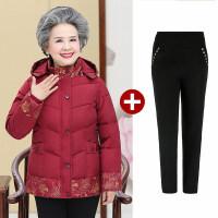 新年特惠中老年女装冬装棉衣60岁70妈妈棉袄外套老年人奶奶装冬季羽绒
