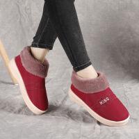 冬季包根棉拖鞋女棉鞋保暖防水男拖鞋居家毛毛拖鞋月子鞋加�q加厚