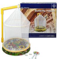 牛津大学益智教育 生物系列 蝴蝶网屋儿童益智DIY创意玩具模型当当自营