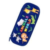 亚马逊探险/天使飞马/丛林动物/萌宠大战学生笔袋 文具袋 多款可选 颜色随机 单个装