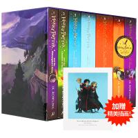 哈利波特全集英文原版书籍1-7册 Harry Potter英语全套 英国版小说正版 JK罗琳 哈利波特与魔法石密室纪念