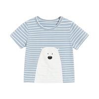 小童短袖t恤 男宝宝夏装上衣儿童打底衫婴儿体恤