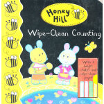 Honey Hill Wipe-Clean Counting Book (Bronze award in the books category of the Right Start Best Toy Awards 2009)《蜜蜂山-学数数》(2009年 英国启蒙玩具书铜奖 ISBN9780230709140)