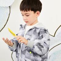 【6折价:323.46元】马拉丁童装男童外套春装2020年新款洋气休闲拉链百搭夹克外套
