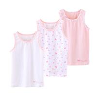 女童背心宝宝无袖儿童护肚小背心内衣夏季T恤打底上衣