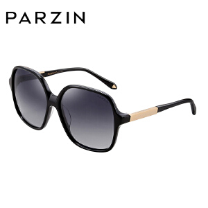 帕森时尚大框圆脸太阳镜女司机开车偏光驾驶镜炫彩墨镜9602