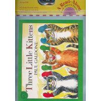 Three Little Kittens Book & CD 三只小猫(附CD)9780618852857