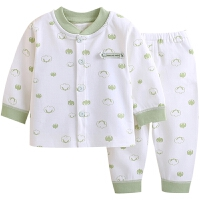 婴儿秋衣秋裤套装宝宝秋装内衣女婴幼儿衣服长袖