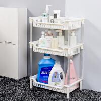 浴室置物架落地卫生间用品置地式洗手间厕所塑料3层收纳架子三层